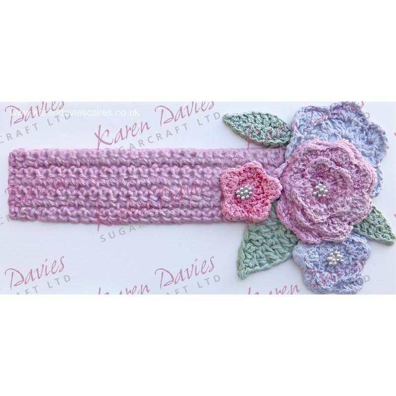 Molde silicona Crochet Border Karen Davies