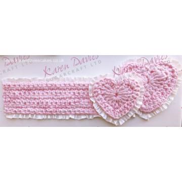 Molde silicona Crochet Corazón Karen Davies