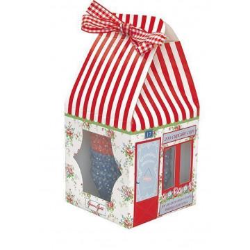 Capsulas cupcakes decorativas House Agnes Green Gate