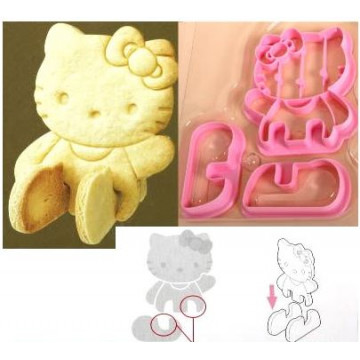 Cortante galleta 3D Hello Kitty