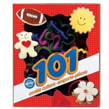 Cortantes caja de piezas varias 101 piezas Wilton
