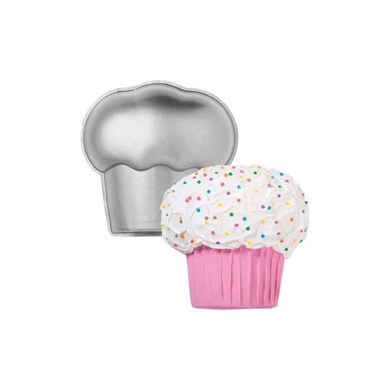 Molde bizcocho Cupcake 2D Wilton