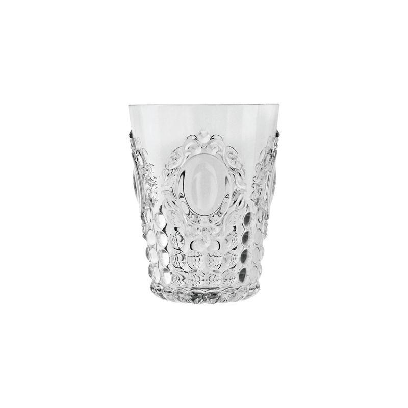 Vaso de agua transparente Baroc & Rock Basi