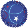 Capsulas cupcakes antigrasa Celebrate Blue Wilton