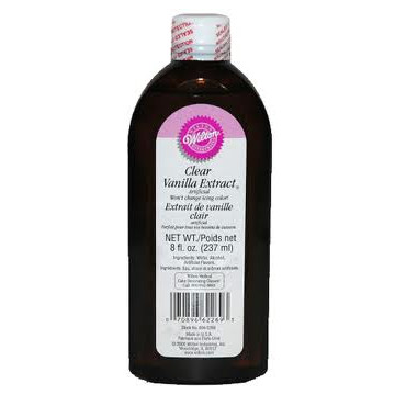 Extracto de vainilla transparente 236ml Wilton