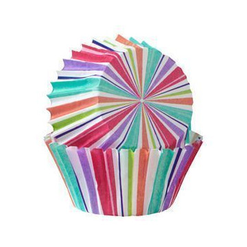 Capsulas mini cupcakes Arcoiris Peek Bunny Wilton