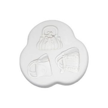 Molde de silicona Handbags 1:Varios Bolsos.SK