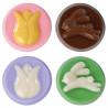 Molde para galletas bombón Tulipán y Conejo Wilton