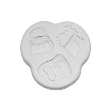 Molde de silicona Handbags 2: Bolsos varios. SK