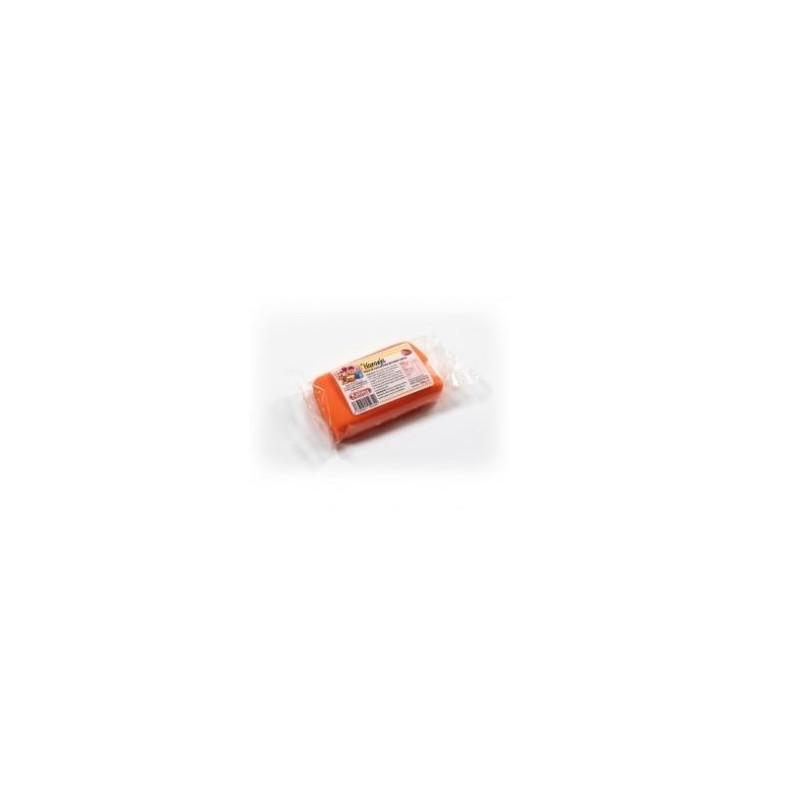 Fondant listo para usar Naranja 100gr Kelmy