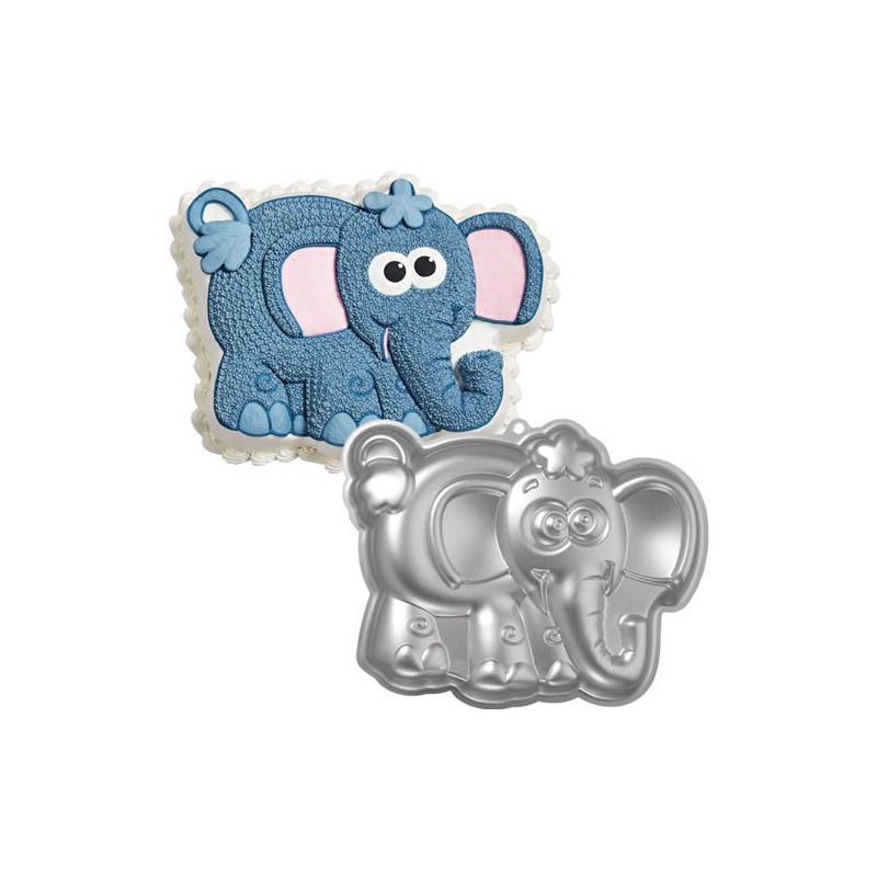Molde bizcocho Elefantito Wilton
