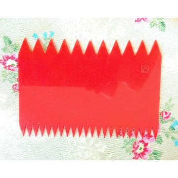 Paleta rasqueta decoraciones onduladas Magic Decor