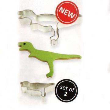 Pack de 2 cortantes Dinosaurio PME