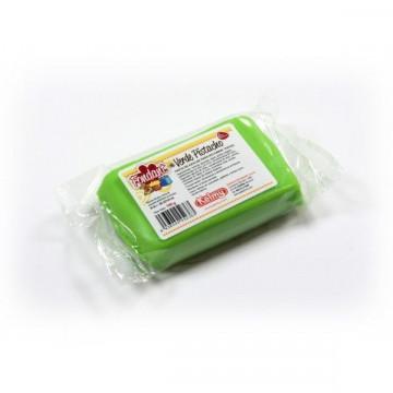 Fondant listo para usar Verde Pistacho 250gr Kelmy