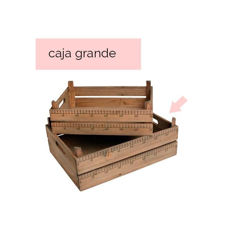 Caja de madera con medidas Mediana [CLONE]