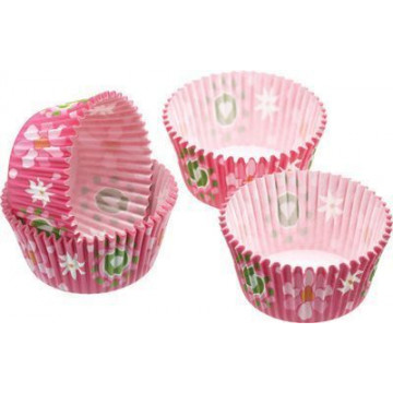 Capsulas cupcakes Flores y mariposas Kitchen Craft
