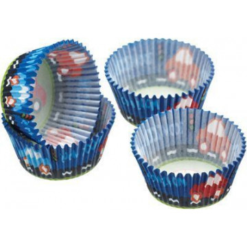 Capsulas cupcakes Coches Kitchen Craft