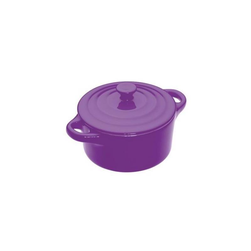Mini Cacerola Ceramica Violeta Colourworks