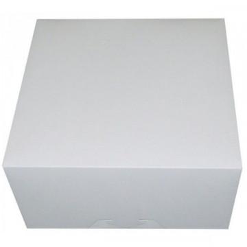 Caja para 4 cupcakes + interior Blanca