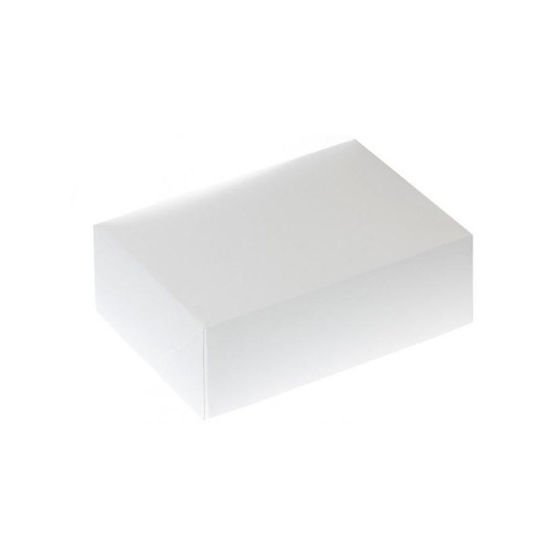 Caja 6 cupcakes + interior Blanca