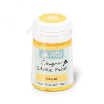 Pintura comestible Edible Paint Amarillo SK