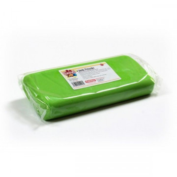 Fondant listo para usar Verde Pistacho 1kg Kelmy