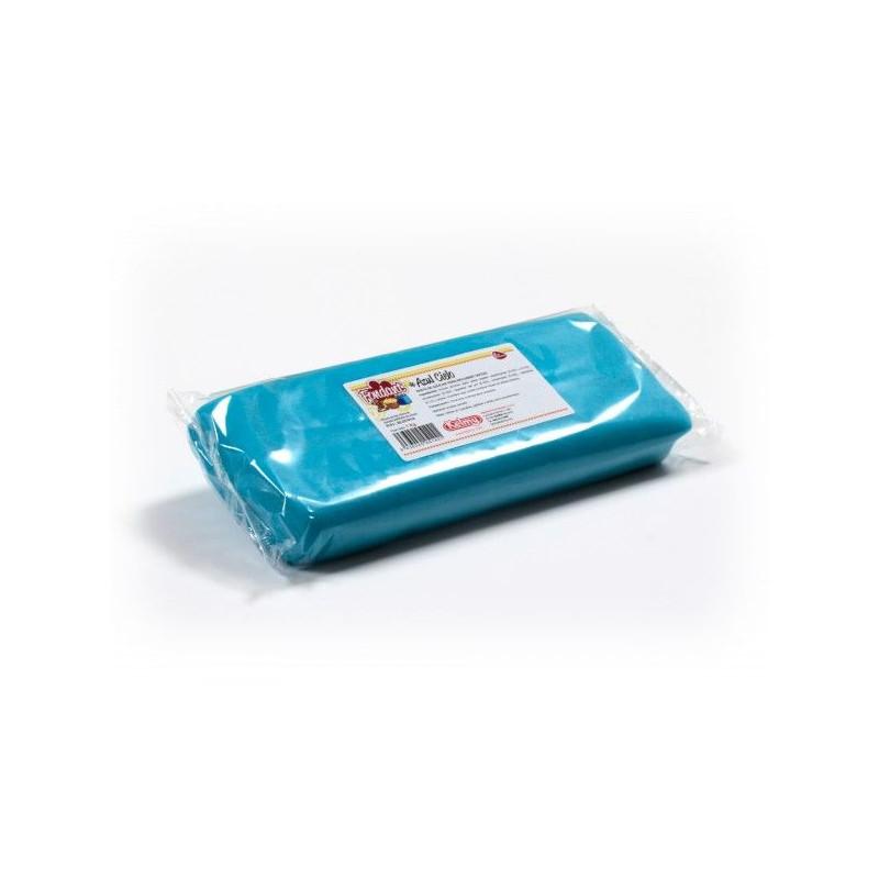 Fondant listo para usar Azul Cielo 1kg Kelmy