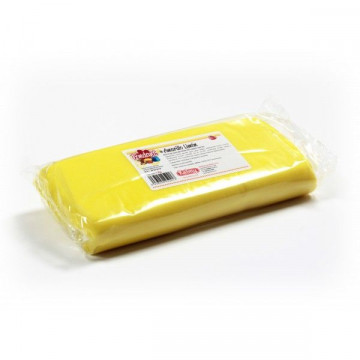 Fondant listo para usar Amarillo Limón 1kg Kelmy