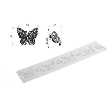 Tapete de Silicona Butterfly Tricot Decor SLK