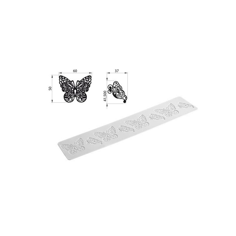 Tapete de Silicona Butterfly Tricot Decor SLK