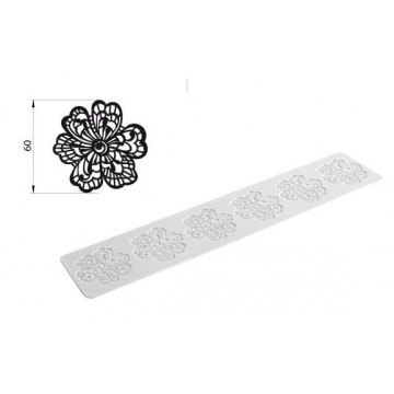 Tapete de Silicona Flower Tricot Decor SLK