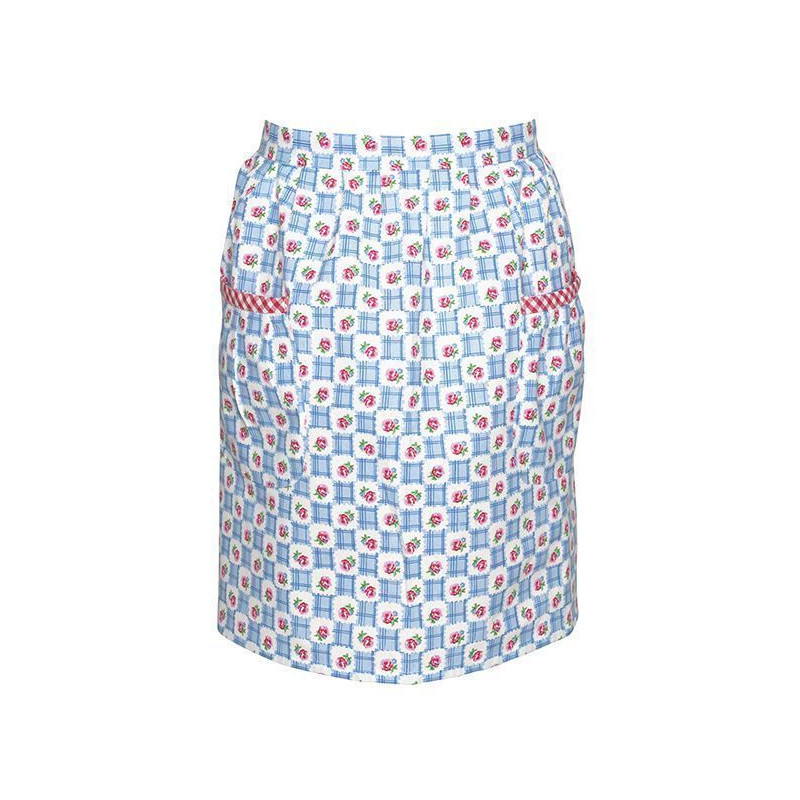 Delantal Falda Apron Johanna Blue Green Gate