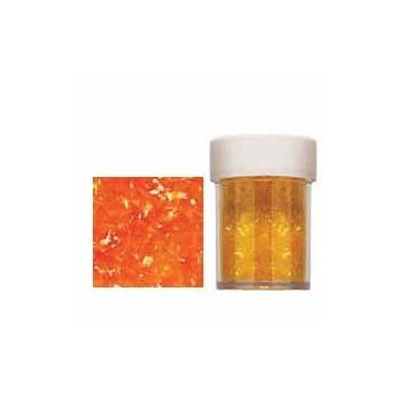 Sparkles Orange Wilton.Destellos Naranja