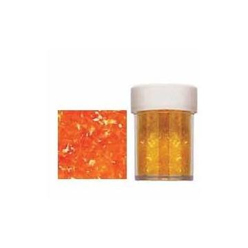 Sparkles Orange Wilton.Destellos Naranja