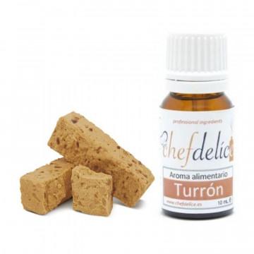 Aroma concentrado Turrón 10 ml Chefdelice