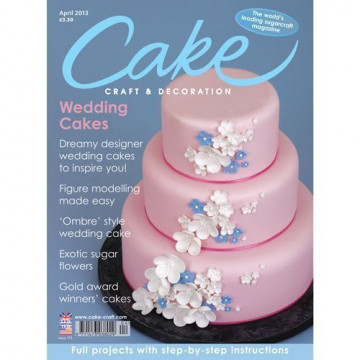 Revista Cake Craft & Decoration Edición Abril 2013