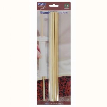Pilares para tartas en madera de bambú PME