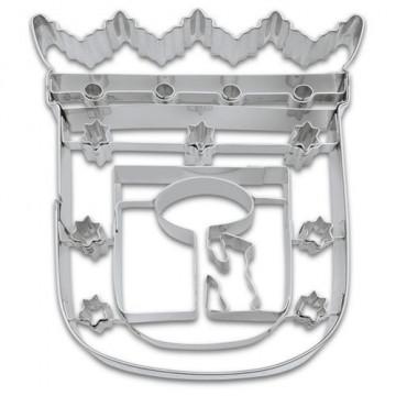 Cortante galleta escudo ciudad de Madrid