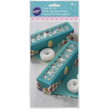 Pack de 2 cajas para 4 cupcakes Conejo de Pascua Wilton [CLONE]