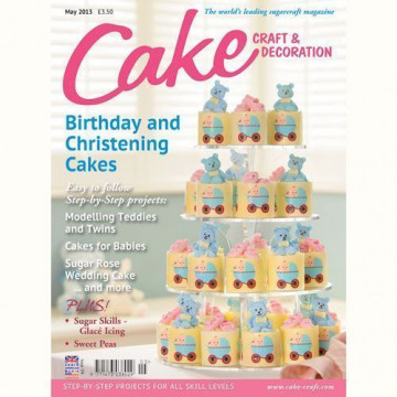Revista Cake Craft & Decoration Edición Mayo 2013