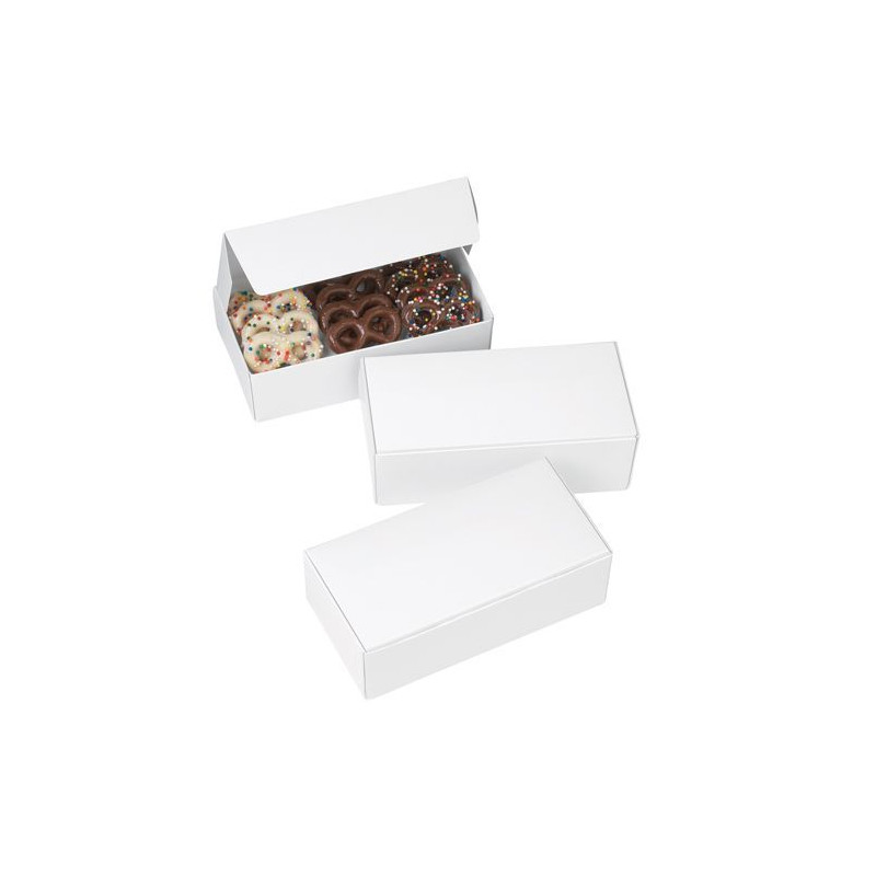 Cajas, Pack 3 cajas blancas para bombones Wilton