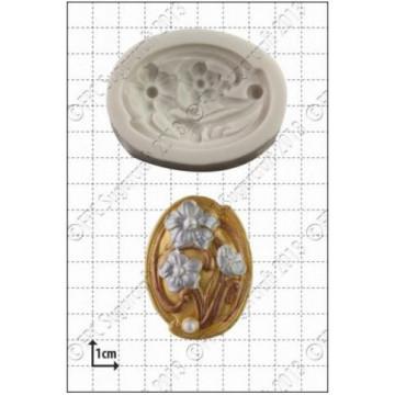 Molde silicona Camafeo Art Nouveau FPC