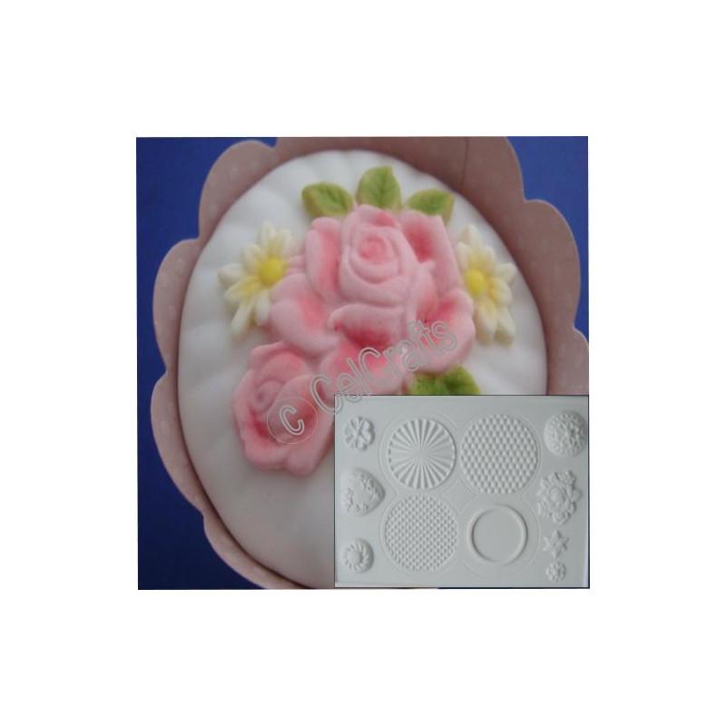 Molde marcador Cupcakes Celshapes Celcrafts