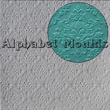 Molde silicona Baroque Mat Alphabet Mould