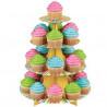Stand de presentación cupcakes Arcoiris Wilton