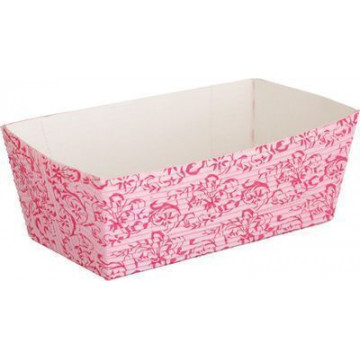 Molde rectangular de papel sulfurado pack 4 Barroc Rose Sweet Does it