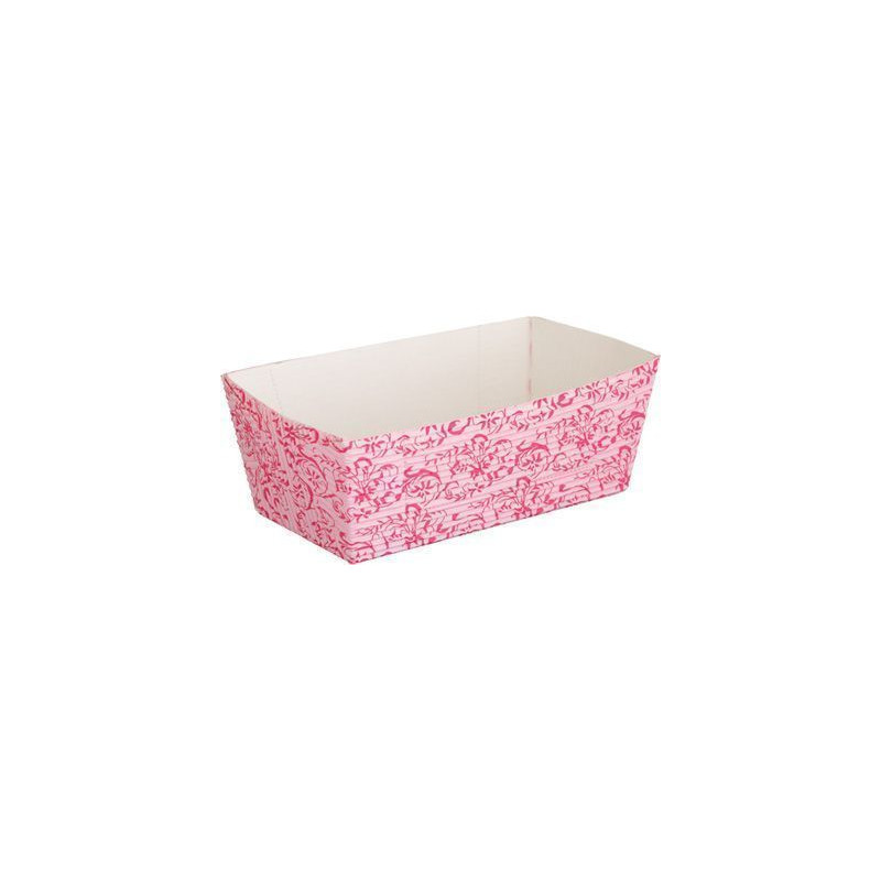 Molde rectangular de papel sulfurado pack 4 Barroc Rose Sweet Does it