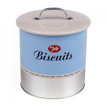 Caja de Galletas Lata Biscuit Retro Tala