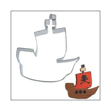 Cortante galleta grande Barco Pirata