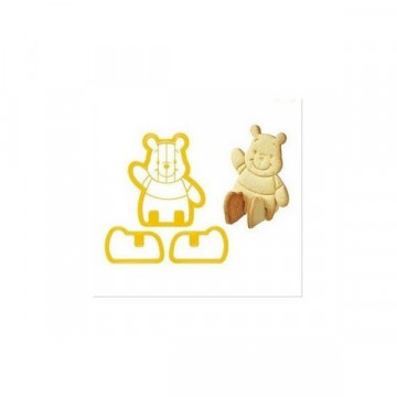 Cortante galleta 3D Winnie Pooh